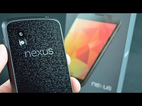 Google Nexus 4: Unboxing & Demo (Android 4.2)