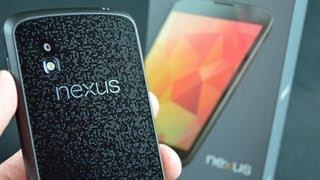 Google Nexus 4: Unboxing & Demo (Android 4.2)
