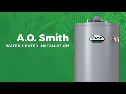 A.O. Smith Water Heater Installation
