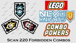 Scan 220 Nexo Forbidden Combo Powers