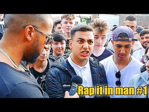 Der nächste Mero? | Ich suche Deutschrap Talente auf der Fibo | Rap it in man #1 - Leon Lovelock