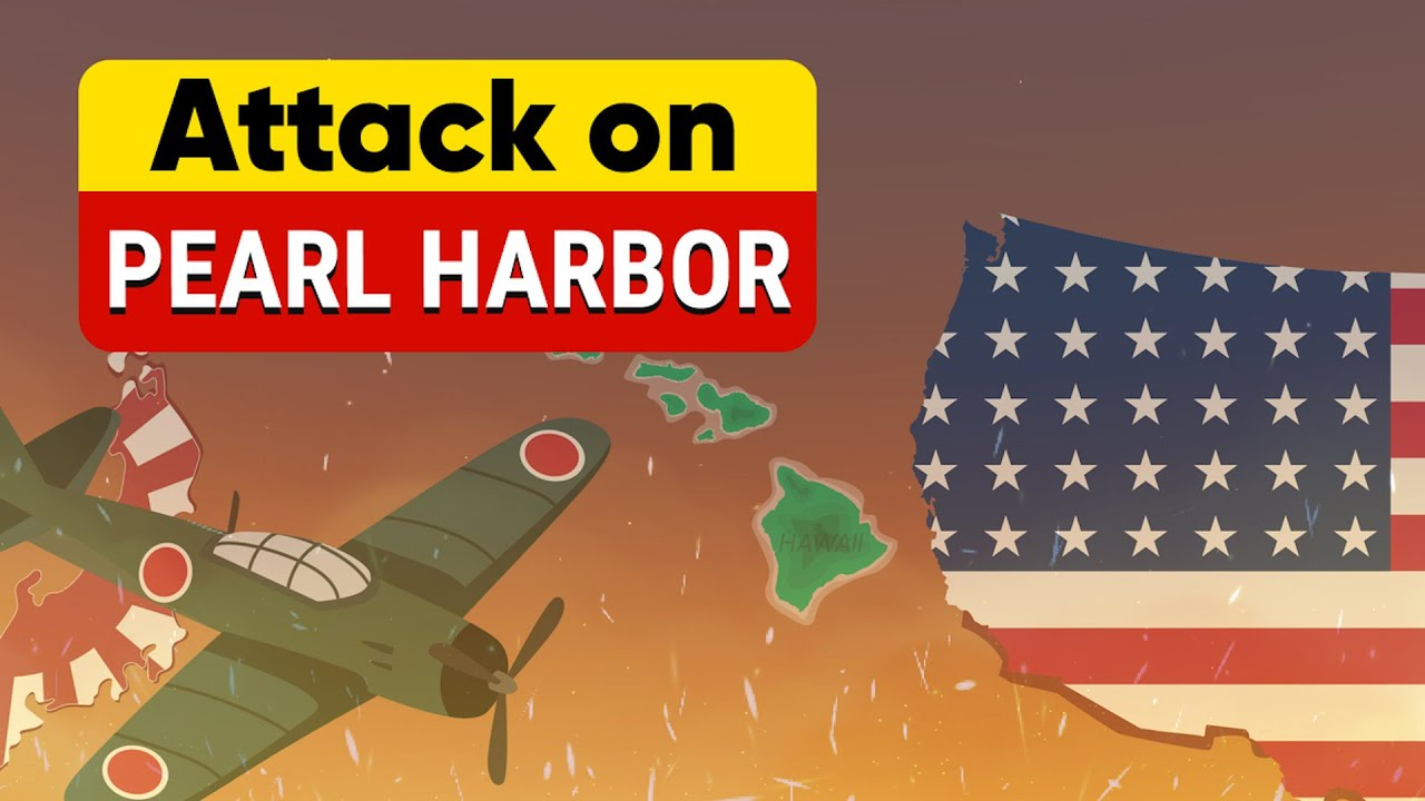Download Pearl Harbor Attack - Maps and Timelines in World War 2   Past to Future