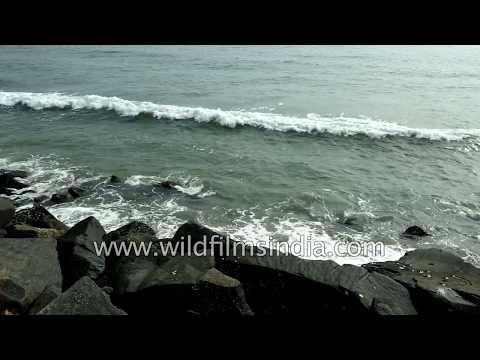 Pondicherry Beach : the brief of the ocean