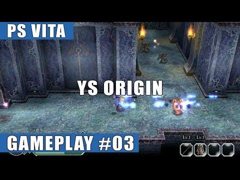 Ys Origin PS Vita Gameplay #3 (Prologue, Tower) - Hugo