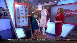 Michelle Beadle (with Linda Cohn) SportsNation Beadle Beatdown