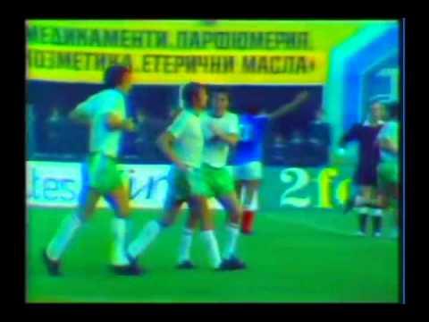 9 ottobre 1976: Bulgaria-Francia 2-2 (Qualificazioni Mondiali 1978)