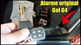 Substituindo alarme original VW G4 e módulo de vidro subindo e descendo via alarme