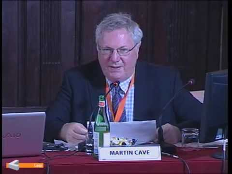 Martin Cave (Deputy Chairman, UK Competition Commission)