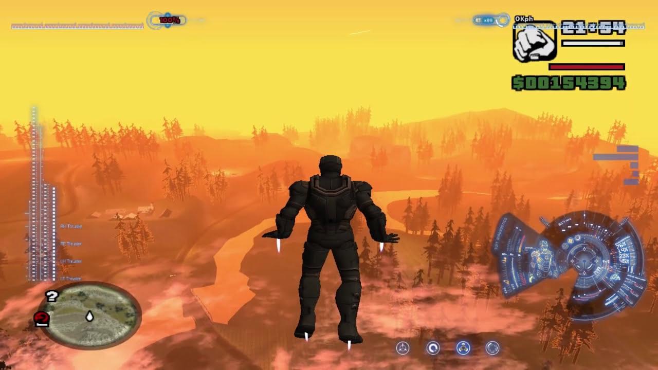 GTA San Andreas - Iron Man Mod