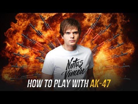 Уроки стрельбы с АК-47 в CS:GO