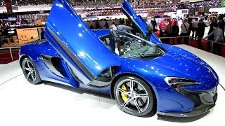 2015 McLaren 650S - Exterior and Interior Walkaround - Debut at 2014 Geneva Motor Show
