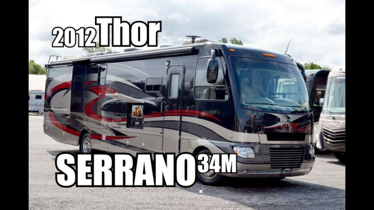 2012 Thor Serrano 34M | Class A Diesel Motorhome