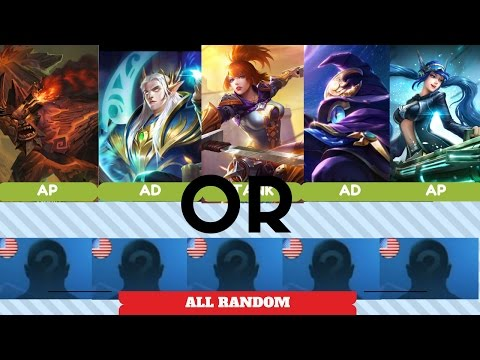 BEST TROLL TEAM COMP? No Main Attribute or Five Random Champion? Mobile Legends Gameplay Highlight