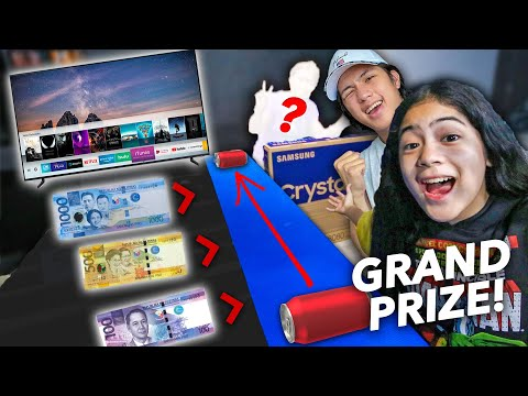 BLOW The Can And WIN The PRIZE It Lands On  May Nanalo Ng TV Ranz and niana