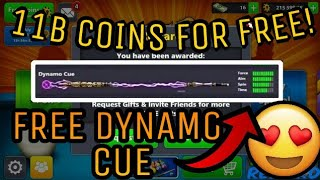 8 Ball Pool - 11 BILLION COINS Account GIVEAWAY!! - 18 LEGENDARY CUES - DYNAMO CUE - 400 CASH!!