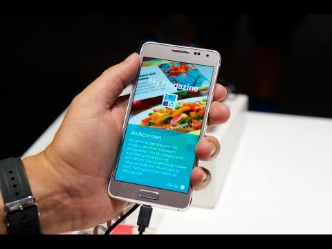 Samsung Galaxy Alpha Hands-On