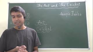Скачать IN HINDI Quot THE ANT AND THE CRICKET Quot CLASS 8 HONEYDEW CBSE BY KEVIN SIR