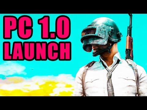Battlegrounds PC Version 1.0 Launch! ⚠️ Playerunknown's Battlegrounds PC 1.0 Gameplay