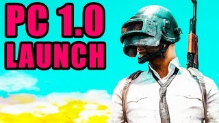 Battlegrounds PC Version 1.0 Launch! ⚠️ Playerunknown's Battlegrounds PC 1.0 Gameplay