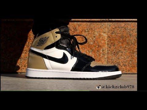 """f1956ed7c6f1 Air Jordan 1 """"Top 3 gold on feet. Kickz Club"""
