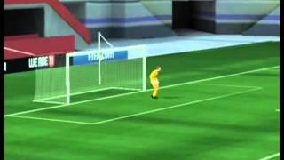 FIFA 11 (Wii) Gameplay: Inter Milan vs AC Milan | Milan Derby