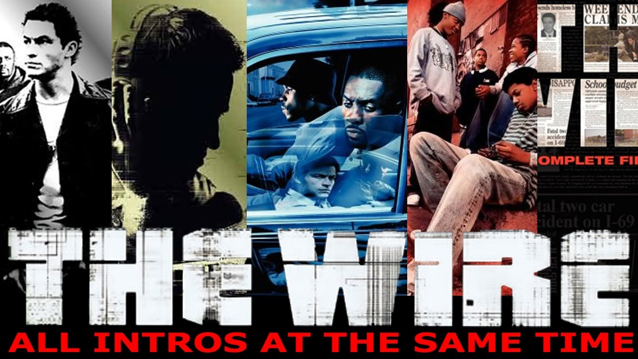 all five \'The Wire\' intros at the same time - YouTube