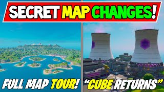 Fortnite: All NEW Chapter 2 Map Changes (Secret Map Changes)! WEEK 1