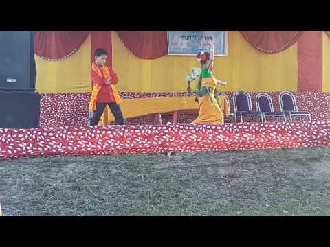 Bodo Dance~Rajiv and Sanjana (Baofungri...