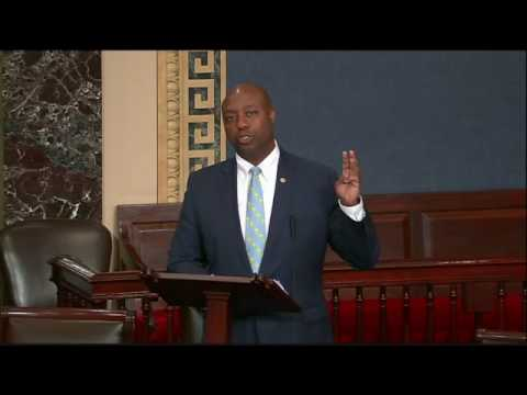 Senator Scott Speaks on Senate Floor Following Tragedy in Alexandria