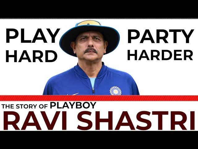 Unknown Story of Cricketer Ravi Shastri & Girlfriends | Cricketer | Playboy | Head Coach India