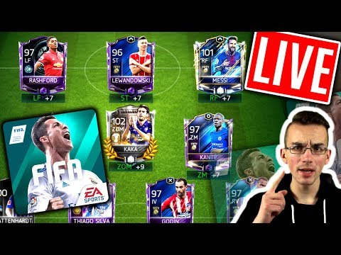 FIFA 18 MOBILE: Live 😱🔥 ROAD TO 100! + KARNEVAL!