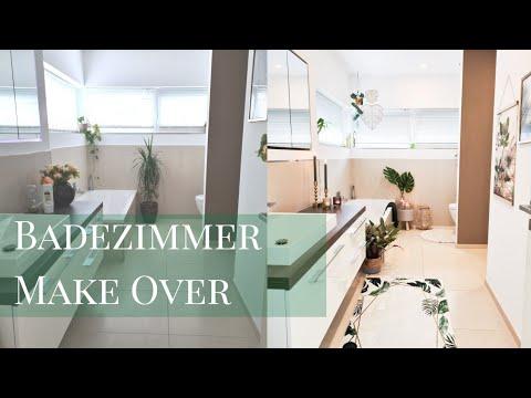 Makeover Badezimmer Urban Jungle Tropisches Badezimmer Bad Deko Ideen Teil 2 Die Siwuchins Youtube