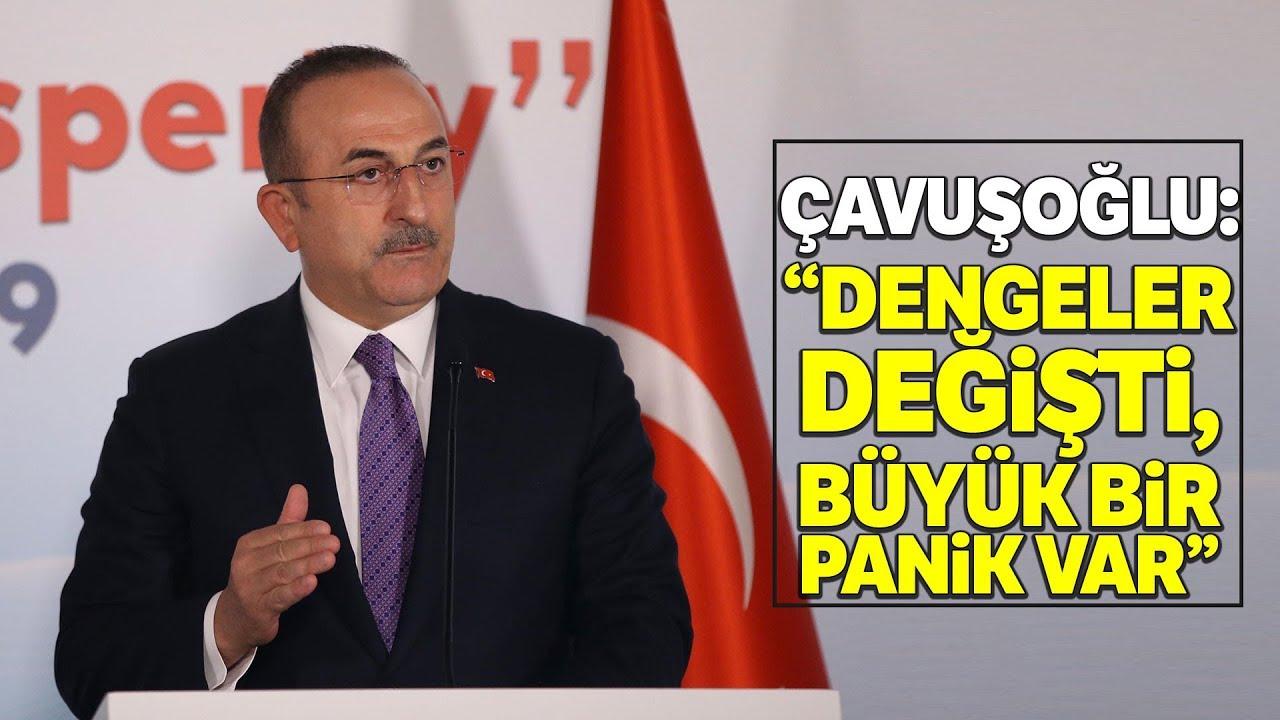 Bakan Çavuşoğlu: 'Libya ile Yaptığımız Anlaşma Uluslararası Hukuka Uygundur'