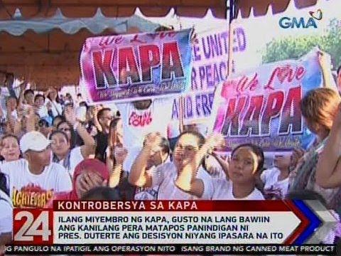24 Oras: Kapa members, gusto na lang bawiin ang pera