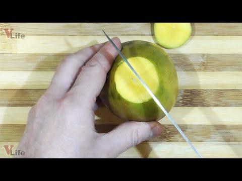 Как открывать манго