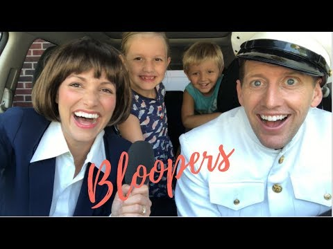 TV SHOW THEME SONG BLOOPERS | Kristin and Danny