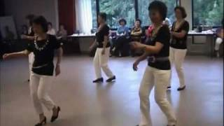 Happy Birthday Sweet Sixteen - Line Dance - by The Cherry Blossom Dancers ( NL/Jun.08 )