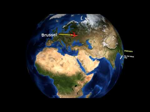 Blender - 3D animation map on a globe