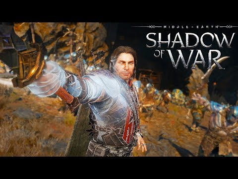 Conquering The First Fortress! (Shadow Of War Gameplay)
