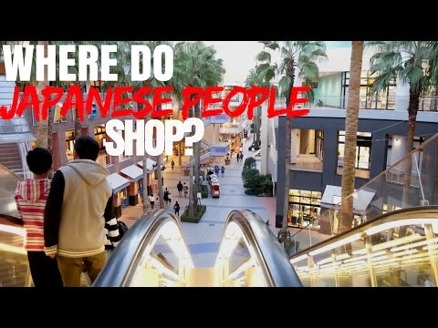 Where do Japanese People Shop?