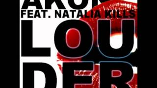 Akon ft Natalia Kills - Louder (David guetta) [HD]