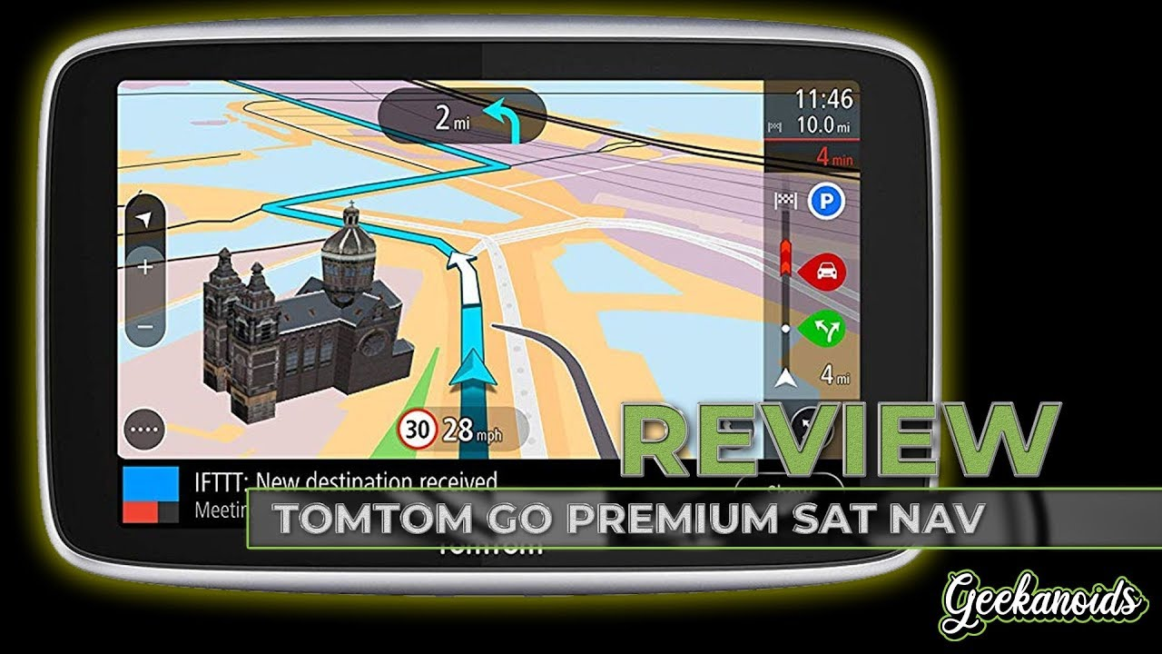 05543418c TomTom GO Premium 5-inch Sat Nav Review - YouTube