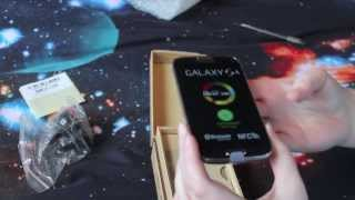 new samsung galaxy s4 autumn brown unboxing