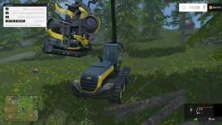 Farming Simulator 15 - Пилим деревья.(, 2014-11-01T21:06:28.000Z)