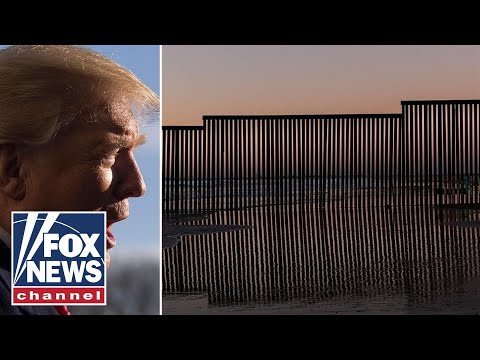 President Trump set the tour the US-Mexico border
