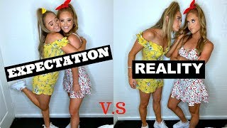 Expectation VS Reality - TWIN Sisters