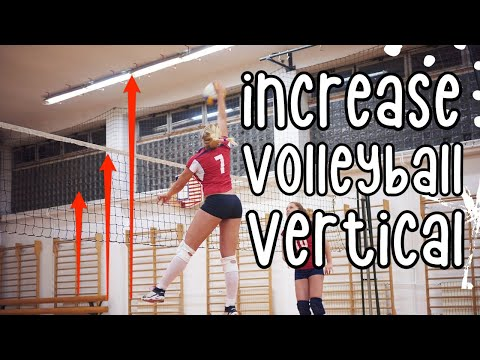 How To Increase Your Vertical For Volleyball! ⎮Jump Training Exercises