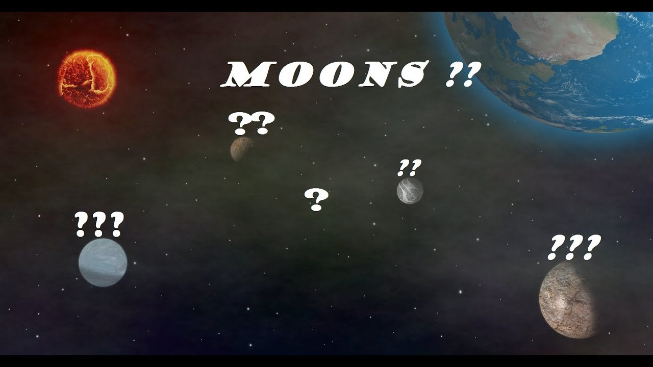 How many Moons Does each planet have ? | The 8 planets and ...