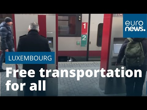 Luxembourg Is First Country In World To Make Public Transport Free