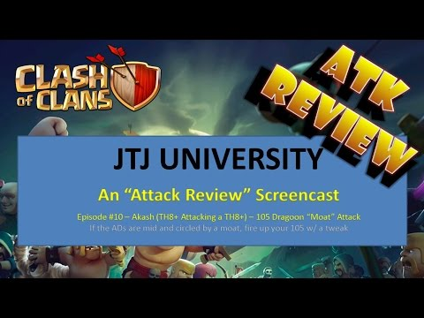Clash Of Clans -- 3 Star -- Attack Review -- 105 Dragoon